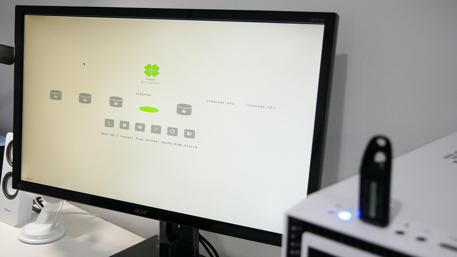 cr u00e9er une clef usb avec macos high sierra sur windows 10 avec transmac