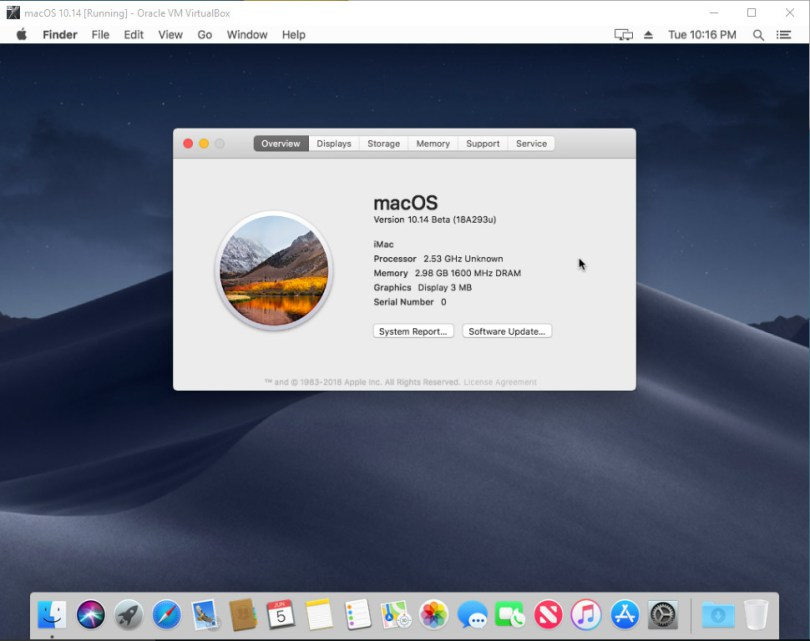 MACOS MOJAVE DOWNLOAD DA WINDOWS - How to download and